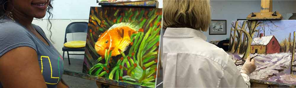 ADULT OIL PAINTING