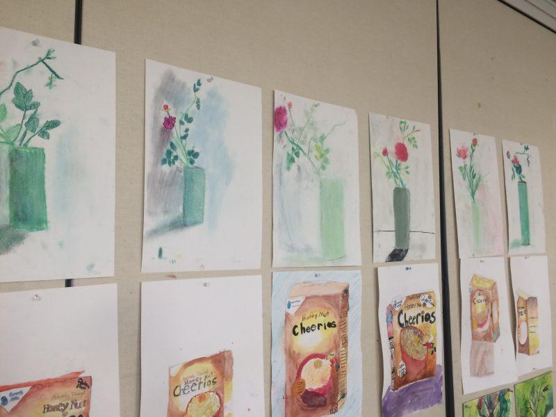 Exhibition of children's art work